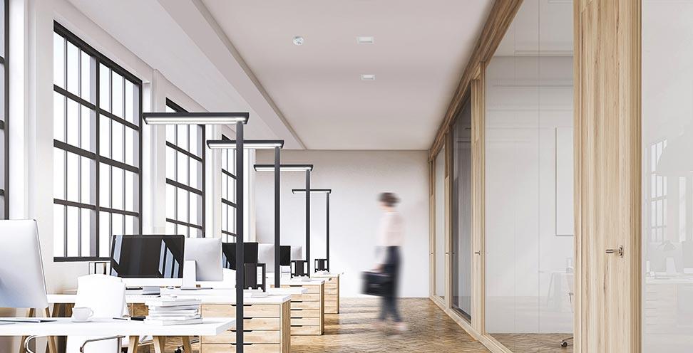 Esylux bureaux en espace ouvert